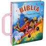 Bíblia Primeiros Passos Com Jesus - Capa Rosa Menina