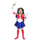Disfraz Traje De Cosplay Niños Dazcos Sailor Moon Tsukino U