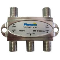 Chave Diseqc 4x1 2.0 Phenom