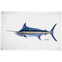 Bandera Para Yate O Lancha Blue Marlin 16x24 Pulgadas