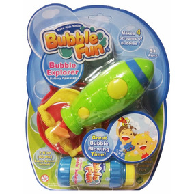 Burbujero Bubble Fun Cohete Bubble Explorer A Pilas Educando
