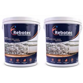 Rebotec ® 10kg Impermeabilizante P/ Laje Reboco Piso Ceramic
