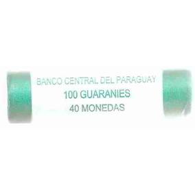 Ml-3538 Moedas Paraguai (100 Guaranies) Tubo Com 40 Moedas
