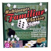 Multijuegos Familiar Clasico Lema Loteria Generala Naipes