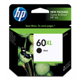 Cartucho Hp 60xl Negro Original Vence 08-2017