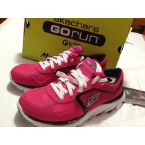 Zapatos Damas Deportivos Skechers Color Fucsia Talla 36