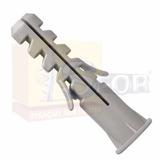 Bucha Para Fixação 6 Nylon Com Anel 500 Unidades *