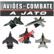 Coleção Aviões De Combate A Jato Aviões Militares - Avulso