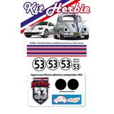 Kit Faixas / Adesivos Fusca Herbie 53 E New Beatle