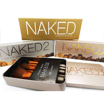 Naked 1 2 3 + Brochas Naked 3 + Envío Gratis 24 Horas Dhl