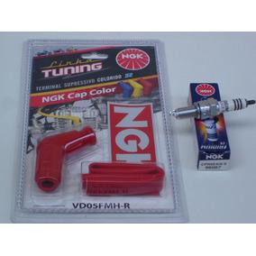 Vela Iridium Ngk+cachimbo Tuning Titan150/160 Fan150/160