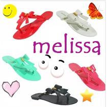 Rasteirinha Laço Sandália Tipo Melissa 2017 Várias Cores