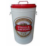 Lixeira Cesto Retro Vintage Grande Stella Artois Cozinha