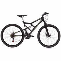 Bicicleta Mormaii Aro 29 Full Susp Big Rider - Preto Fosco