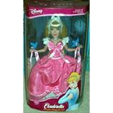 Juguete Disney Cenicienta Porcelana Del Recuerdo De La Muñe