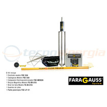 Faragauss Pararrayos Kit Faragauss Fge-lp01