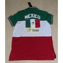 Playera Tipo Polo Tommy Hilfiger S 100% Original Mexico