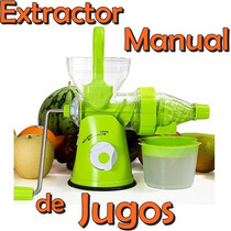 Extractor De Jugos Manual Wheat Grass Pasto De Trigo Dieta