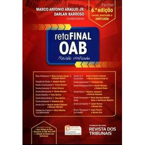 Livro Reta Final Oab Revisão Unificada