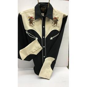 Camisa Vaquera Cheyenne Bordada Espuela De Oro