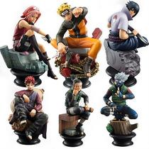 Kit 6 Miniaturas Naruto Para Coleção - A Pronta Entrega