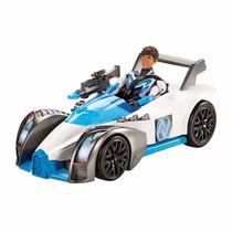 Boneco Max Steel Veiculo Transformação Turbo Mattel
