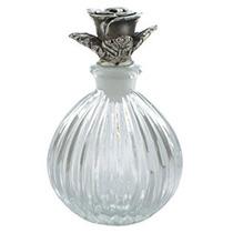 Antigüedades Botellas De Perfume De Cristal Vacía Recargab