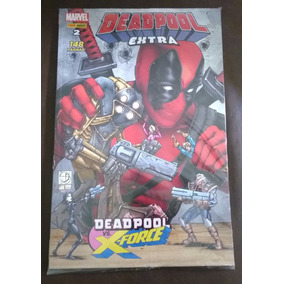 Hq Deadpool Extra #02 - Deadpool Vs. X-force - Panini - Novo