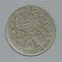 Portugal 1 Escudo 1928 Plata