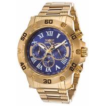 Relógio Invicta Specialty 19699 Banhado A Ouro 18k