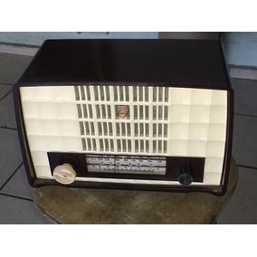 Radio Philips Antigo Perfeito Funcionando (only Wood)
