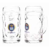 Caneca Oficial Cerveja Hb - Hofbrau 1 Litro Frete Gratis