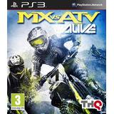 Mx Vs Atv Alive - Ps3 - Entrega Inmediata