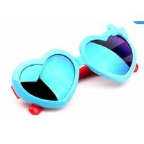 Óculos De Sol Infantil Lolita Coração Espelhado Promoção