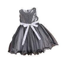 Vestido Infantil Festa Criança Casamento Com Brilho Princesa