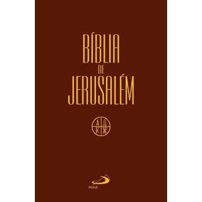Bíblia De Jerusalém Capa Cristal Ed Paulus Sagrada Escritura