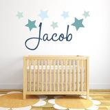 Nombres En Vinil Para Cuartos De Bebes Niños Y Niñas