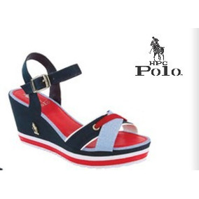 Sandalias Polo Navy 100% Genuinas + Envío + Regalo