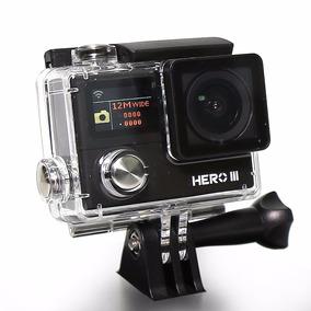 Filmadora Midipro Hero 3 | 12mp | 1080p +wi-fi | Frete