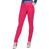 Calça Social Feminina Skynni Pink Principessa Bianca