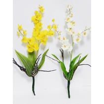 Kit 3 Chuvas De Ouro Artificial - Buquês Arranjos Orquídeas