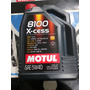 Aceite Lubricante Motor Motul 8100 5w40 Sintetico X5 Litros