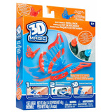 3d Magic Kit Repuesto Mariposa O Dinosaurio Tv Original