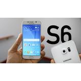 Permuto Canje Samsung S6 32g 4g Lte Blanco Cargador Libre