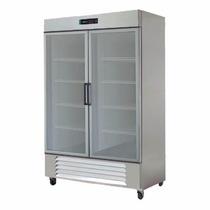 Asber Arr-49-2g-pe Refrigerador 2 Puertas Cristal Xxref