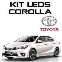 Acessorio Kit Led Corolla Toyota 2015 2016 Gli Xei Alts