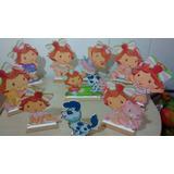 Moranguinho Baby Cenario De Mesa,display,festa Infantil,mdf