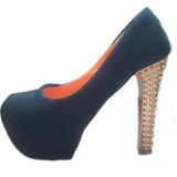 Lindíssimo Sapato De Salto Feminino Peep Toe