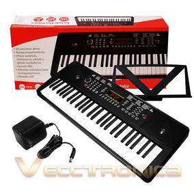 Teclado Electronico Musical Con Salida De Audio, Metronomo.