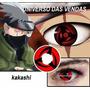 Lentes Naruto Cosplay De Contato Sharingan Madara Kakashi